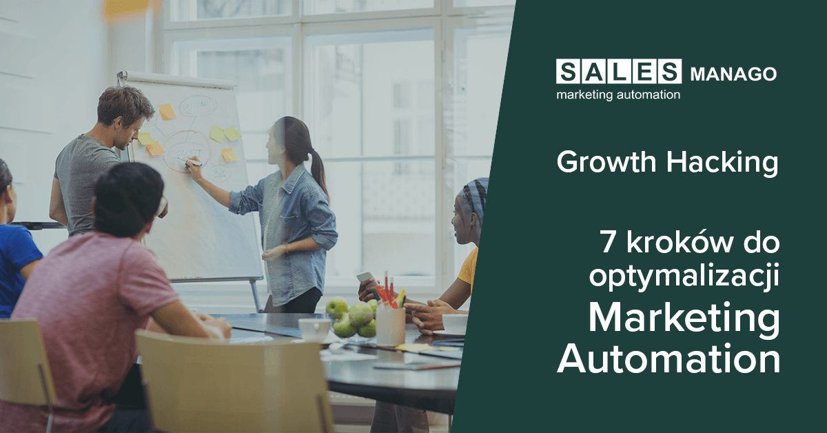 Zoptymalizuj Marketing Automation w 7 krokach z usługą SALESmanago Growth hacking! [INFOGRAFIKA]