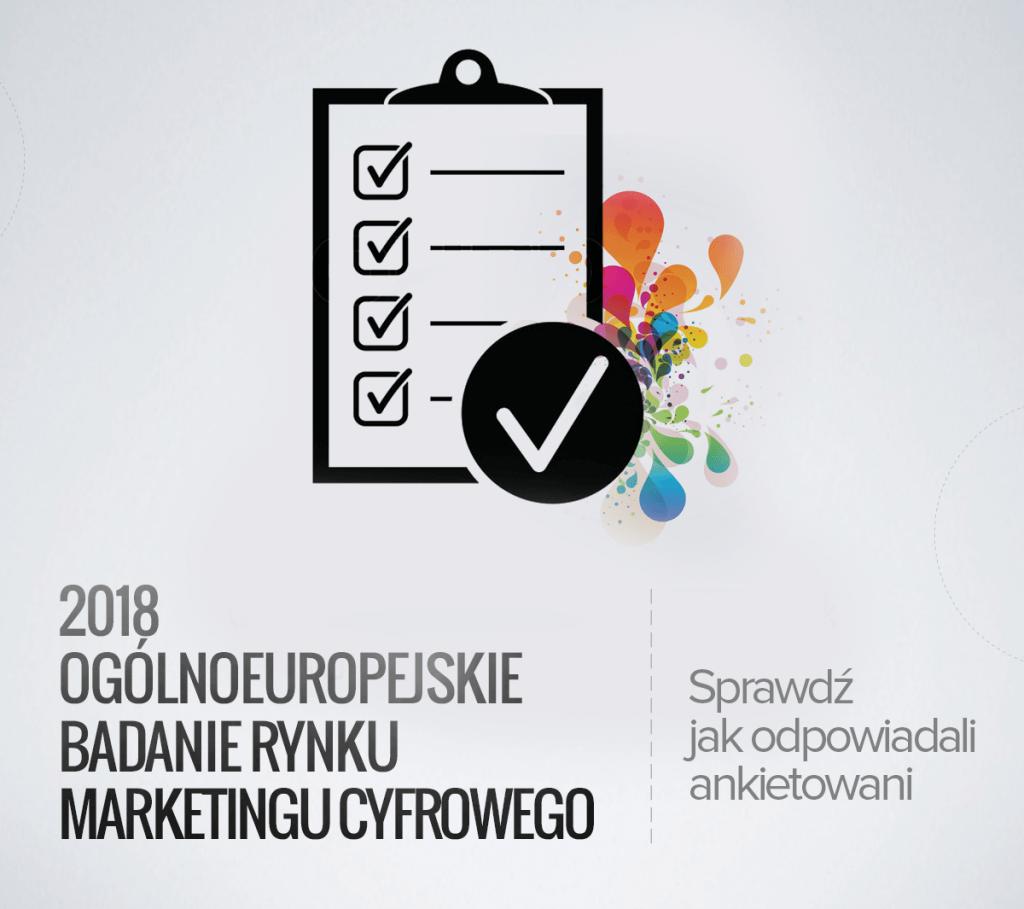 60% marketerów przy wyborze nowej pracy nie wybrałoby pracy w marketingu (2018 European Digital Marketing Survey)