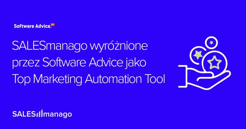 SALESmanago wyróżnione przez Software Advice jako Top Marketing Automation Tool
