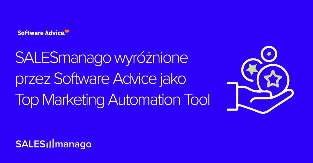 SALESmanago wyróżnione przez Software Advice jako Top Marketing Automation Tool