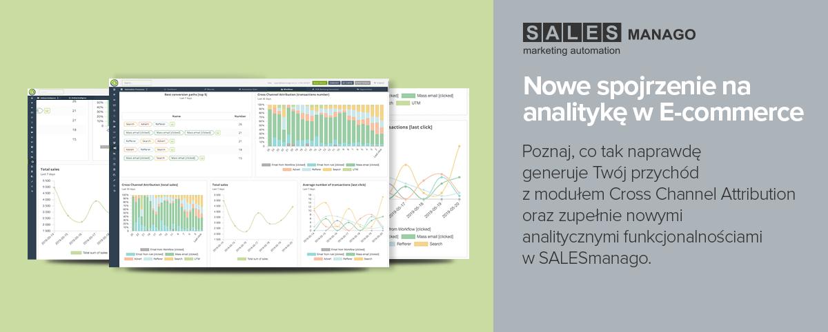 Nowe podejście SALESmanago do Cross Channel Revenue Attribution |Nowe analityczne funkcjonalności