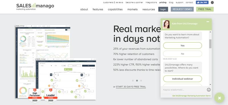 Predykcja zakupów, CLV ichurnu klienta. Realizacja road mapy SALESmanago maj 2020