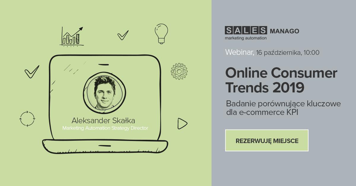 Online Consumer Trends 2019 | Badanie porównujące kluczowe dla e-commerce KPI