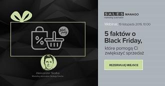 [Webinar] 5 faktów o Black Friday, które pomogą Ci zwiększyć sprzedaż