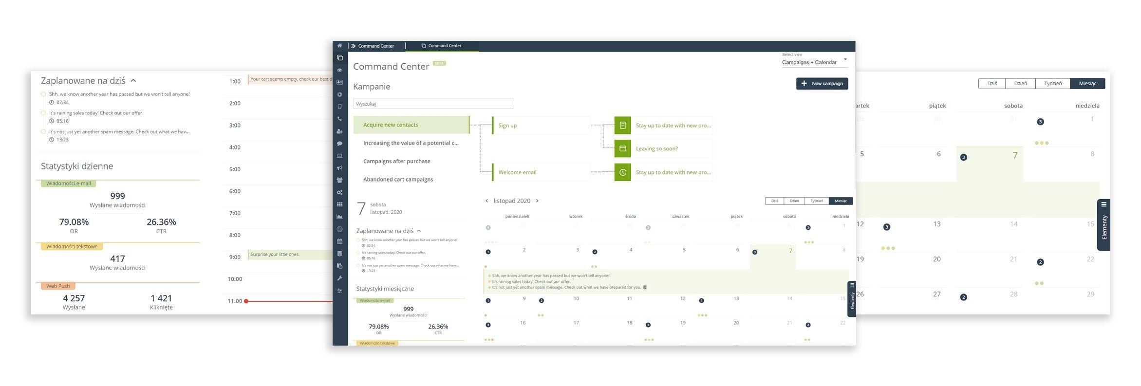 [Nowa funkcjonalność] Command Center wyznacza nowy standard UI do zarządzania zorientowanymi na KPI wielokanałowymi, wielofunkcyjnymi i wielozadaniowymi procesami marketingowymi.