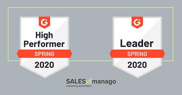 SALESmanago liderem w kategoriach Marketing Automation oraz Personalizacja w wiosennym zestawieniu G2