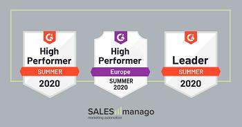 Nowy raport G2Crowd z SALESmanago na pozycji lidera w kategoriach Zarządzanie Danymi i Personalizacja.