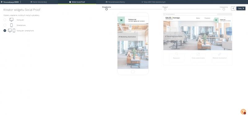 [Nowa funkcjonalność] Social Proof – niezwykły sposób na zwiększenie zaangażowania klientów na Twojej stronie!
