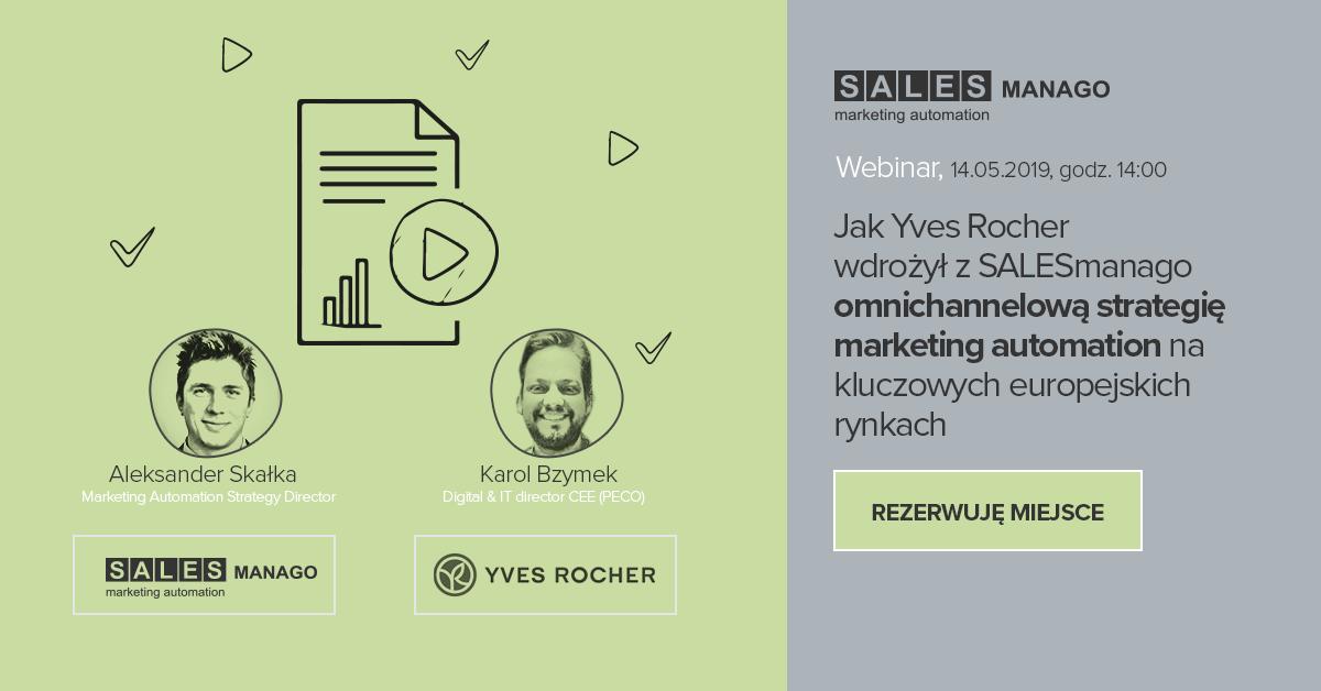 Dowiedz się jak Yves Rocher wdrożył z SALESmanago omnichannelową strategię marketing automation na kluczowych europejskich rynkach